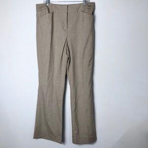 Tahari women's NWT beige/tan career work pants